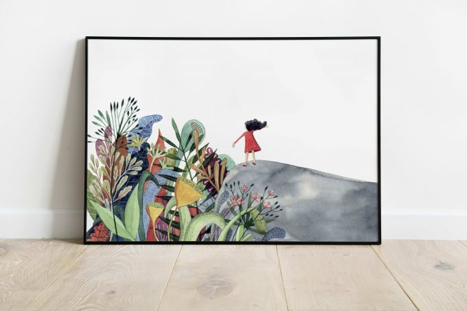 Hola-Primavera ilustradora Cecilia Plaza