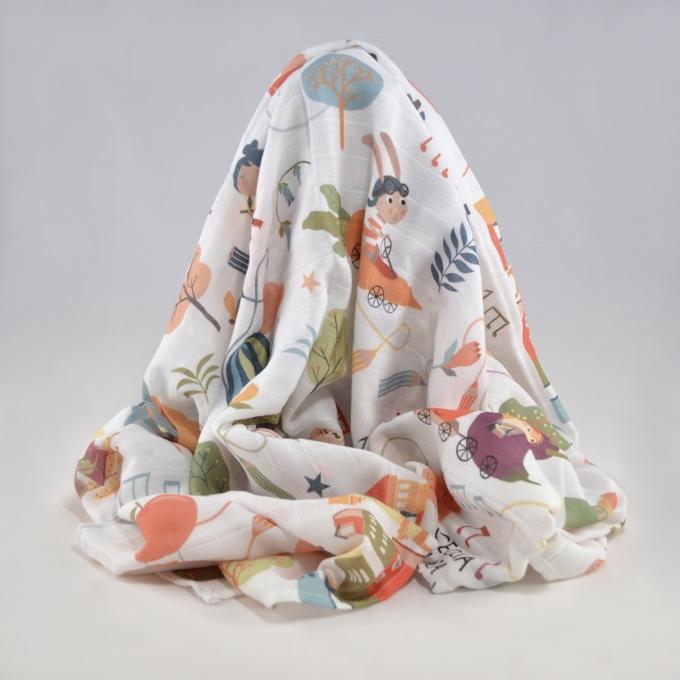 Muselinas de algodón