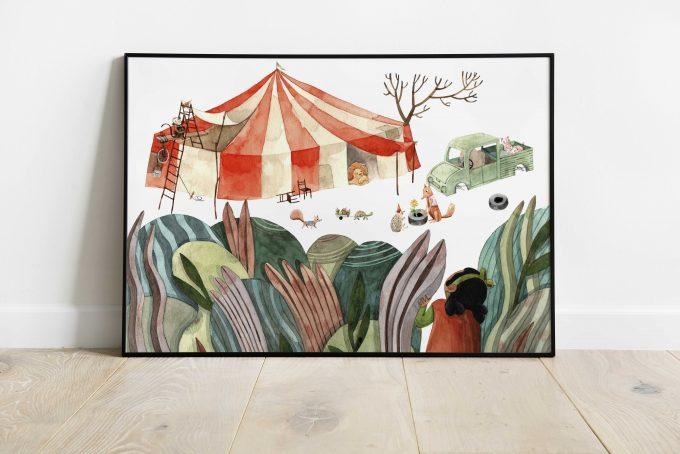 Cuento-Circo ilustradora Cecilia Plaza