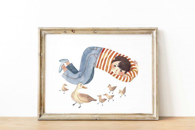 Mínimas-Aves ilustradora Cecilia Plaza